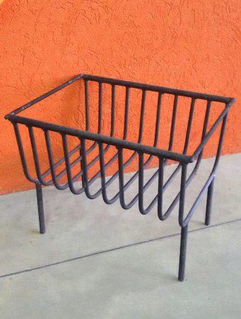 Brasero Vicente Grande, de hierro, 32x40