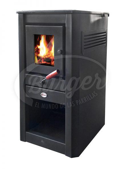 calefactor a leña chico