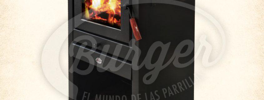 Calefactores Burger a leña